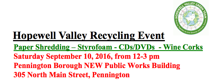 Hopewell Recycling Event