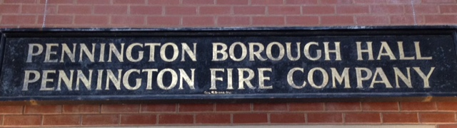 Borough Fire sign