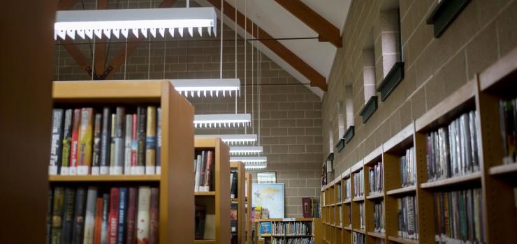 Interior Pennington Library