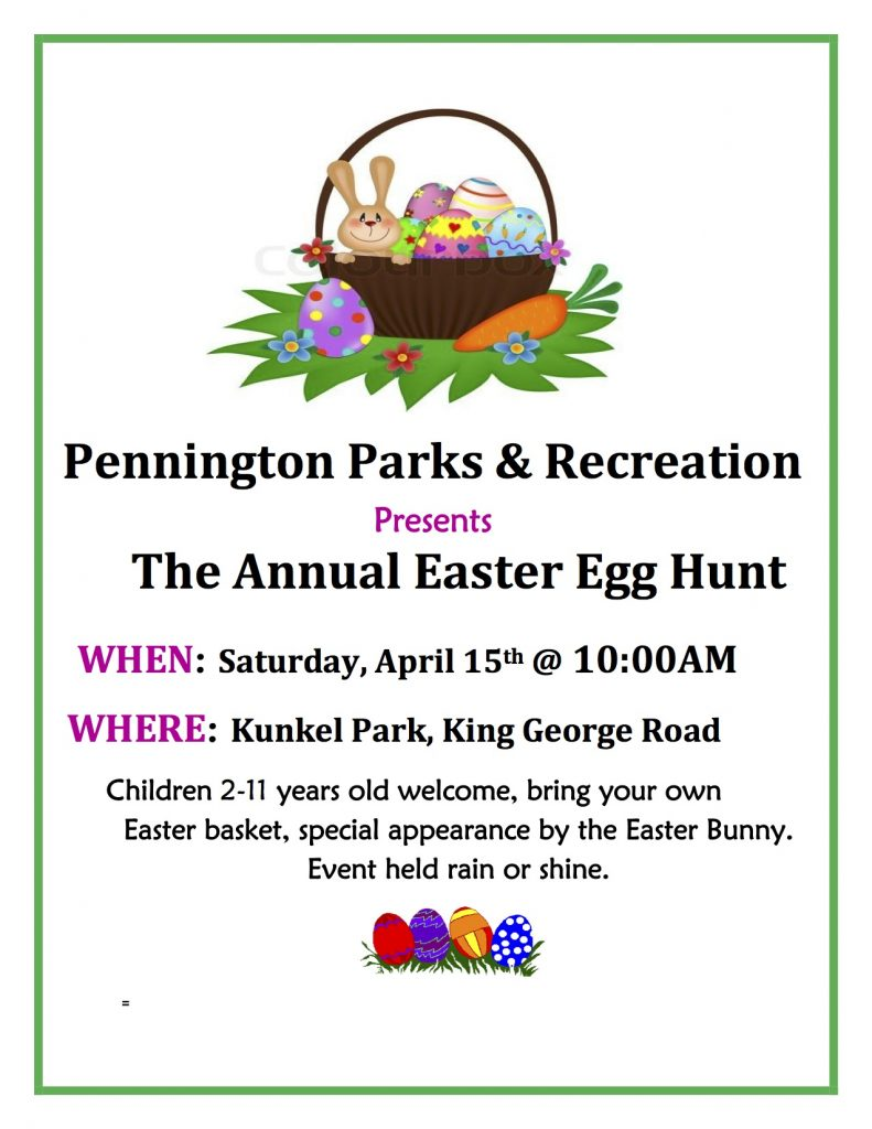 Pks & Rec Easter Flyer 2017 -Revised