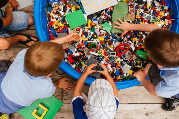 Lego Outdoor Free Play, June 9 @ 11 am