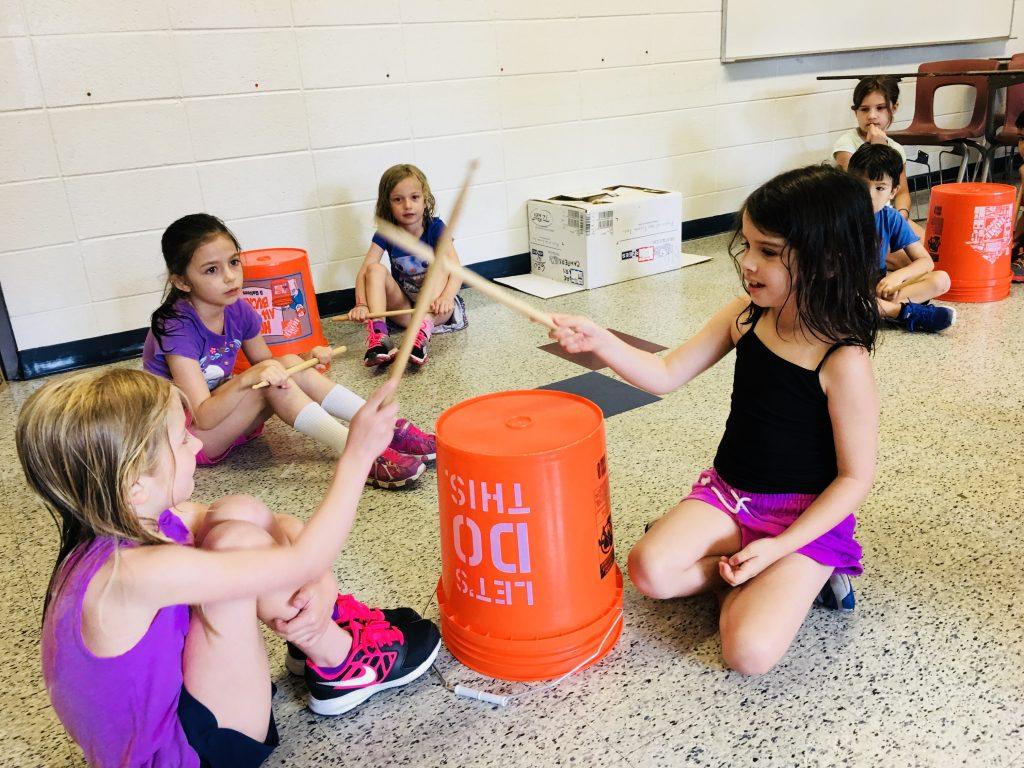 Bucket Drumming, 9/5