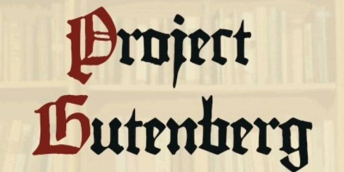 Free eBooks – Project Gutenberg – Recommended Reads – Pennington