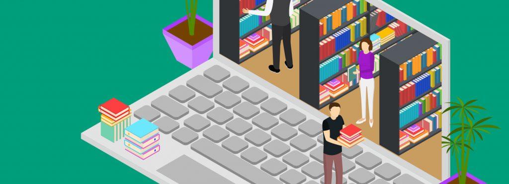 Virtual Library Open. Click Green Bar.